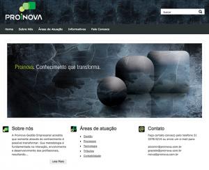 Criação de site para empresa de consultoria de Porto Alegre - RS.