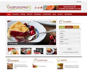Desenvolvimento de site sobre gastronomia