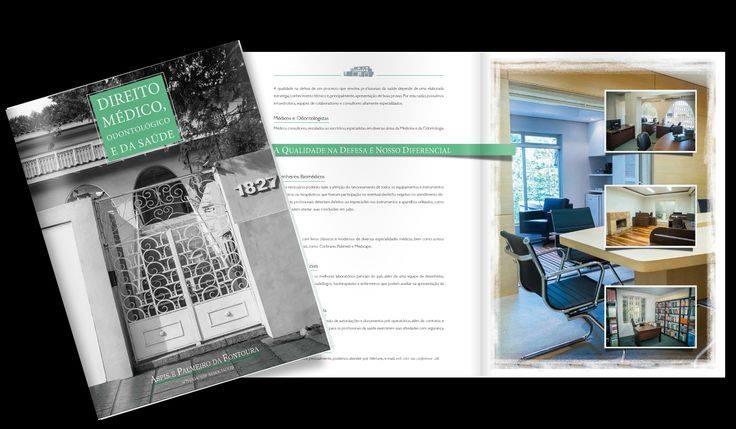 Marketing Jurídico - Criação de folder para escritório especializado em Direito Médico