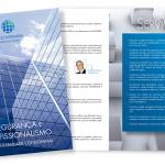 Folder para escritório de advocacia e contábil. São Paulo - SP