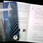 Folder e pasta para escritório de advocacia.