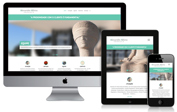 Marketing - Criação de site para escritórios de Advocacia
