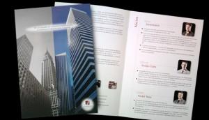 Folder escritório de advocacia - Porto Alegre - RS. Folder para advogados especializados.