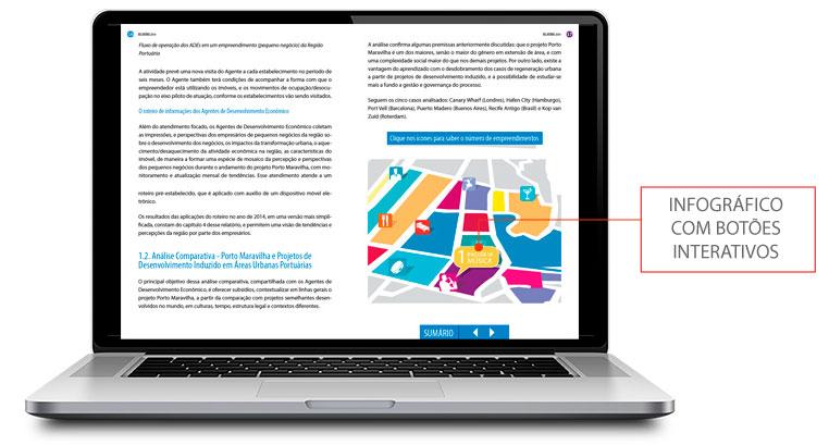 apresentacao de empresa infografico