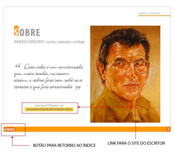 diagramação de folder interativo