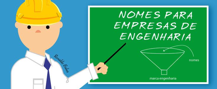 Nomes de empresas de engenharia civil: exemplo prático de criação de nome de empresa