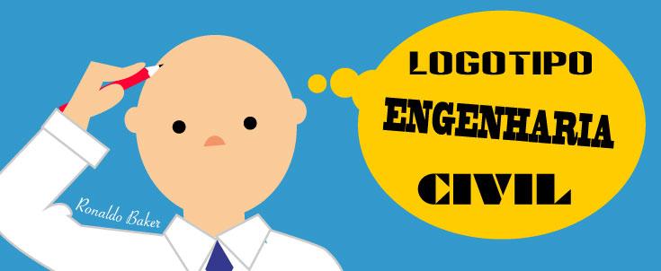 Logotipo Engenharia Civil: criação de marca para empresa de engenharia e construção