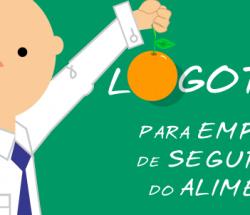 Logotipo para empresa de segurança do alimento. Originalidade e diferenciação