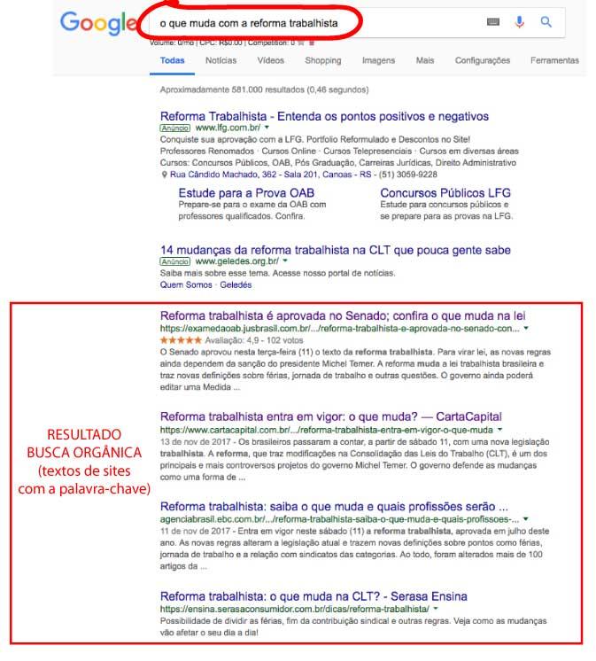 Google para advogados