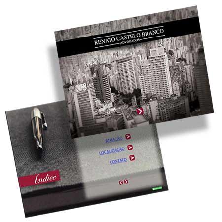 Folder Institucional Advocacia